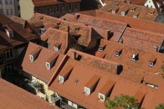 Dachlandschaft Graz von uns mitgestaltet